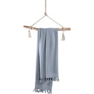 Hamamdoek Soft Cotton – 100×180 cm – Blauw