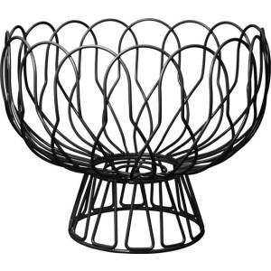 Fruit mand – Wired – Metaal – Zwart