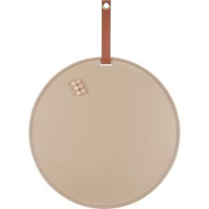 (Present Time) Perky – Memobord – Ijzer – Ø50cm –  IJzerklei bruin