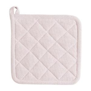 Linen & More- 2 stuks Pannenlappen soft pink